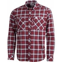 Lundhags Jaksa LS Shirt Dark Red