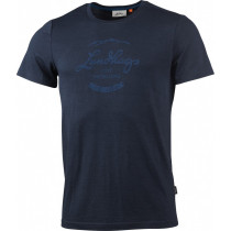 Lundhags Merino LT Established Men's Tee Deep Blue