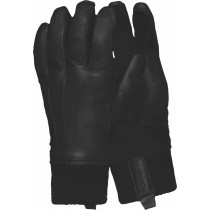 Norrøna Røldal Dri Insulated Leather Gloves Caviar