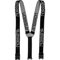 Norrøna Suspenders Black