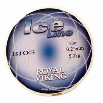 Royal Viking Ice Röd Lina 0,18mm 50m 2,8kg