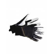 Craft Podium Leather Glove Black