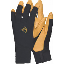 Norrøna Lyngen Windstopper Leather Gloves Caviar
