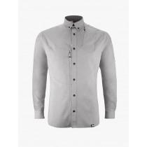 Klättermusen Lofn Shirt M's Grey Melange
