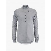 Klättermusen Lofn Shirt Women's Grey Melange
