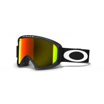 Oakley 02 XL Matte Black Fire Iridium