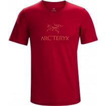 Arc'teryx Arc'Word SS T-Shirt Men's Red Beach