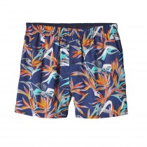 Patagonia Men's Go-To Boxers Piton Paradise: Channel Blue
