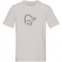Norrøna /29 Cotton Logo T- Shirt (M) Drizzle