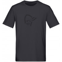 Norrøna /29 Cotton Logo T- Shirt (M) Caviar