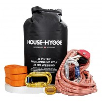 House Of Hygge, 35 meter Pro Slakkline Kit