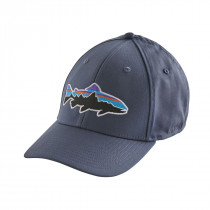 Patagonia Fitz Roy Trout Stretch Fit Hat Dolomite Blue