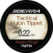 Scierra Tactical Tippet Material 50m Flugtafs