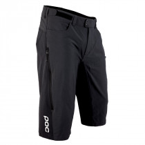 POC Resistance Enduro Mid Shorts Carbon Black