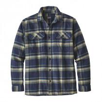 Patagonia M L/S Fjord Flannel Shirt Activist: Navy Blue