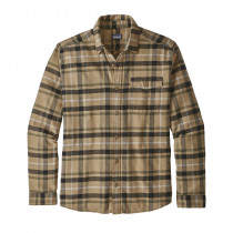 Patagonia M Lw Fjord Flannel Shirt Tom'S Place: Mojave Khaki