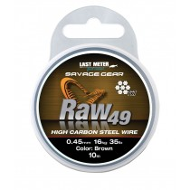 Savage Gear Sg Raw49 10m Uncoated Brown