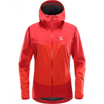 Haglöfs Virgo Jacket Women Pop Red/Rich Red