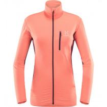 Haglöfs L.I.M Mid Jacket Women Coral Pink/Aubergine