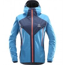 Haglöfs L.I.M Proof Multi Jacket Women Tarn Blue/Blue Fox