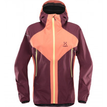 Haglöfs L.I.M Proof Multi Jacket Women Coral Pink/Aubergine