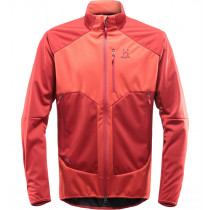 Haglöfs Multi Windstopper Jacket Men Corrosion/Rubin
