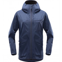 Haglöfs Eco Proof Jacket Women Tarn Blue