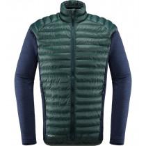 Haglöfs Mimic Hybrid Jacket Men Mineral/Tarn Blue