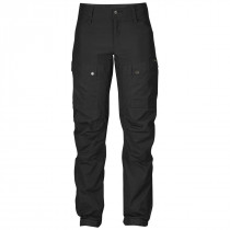Fjällräven Keb Curved Trousers W Short Black-Black