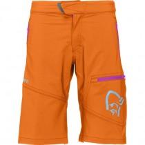 Norrøna /29 Flex1 Shorts Junior's Pure Orange