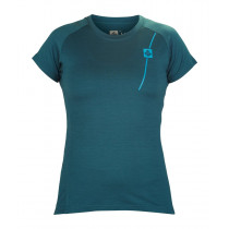 Sweet Protection Badlands Merino SS Jersey Women's Dark Frost