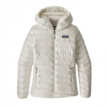 Patagonia W Down Sweater Hoody Birch White