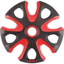 Leki Big Mountain Basket 2K Black-Red 95 mm