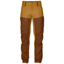 Fjällräven Keb Curved Trousers Woman`s Chestnut-Acorn