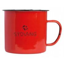 Sydvang Mugg Emalj Röd 500ml