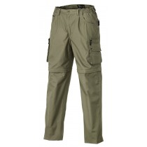 Pinewood Wildmark/Sahara Zip-Off Barn Lys Khaki