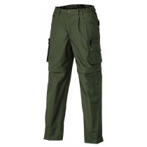 Pinewood Wildmark/Sahara Zip-Off Barn Mellomgrønn
