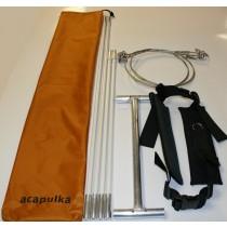Acapulka Drag och Dragbälte set till Paris och Lastpulkor