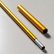 Hilleberg stångseksjon 11 mm (inklusiv reparasjonshylse)