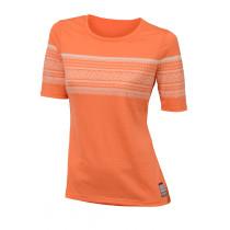 Aclima Designwool Marius T-Shirt, Women Coral Rose