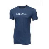 Aclima Lightwool T-Shirt Logo, Man Insignia Blue