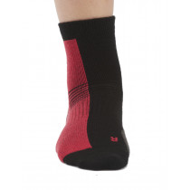 Aclima Running Socks 2-Pack Raspberry/Black