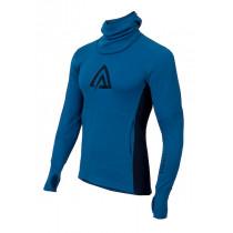 Aclima Warmwool Hood Sweater Men's Bluesapphire/Peacoat