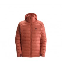 Black Diamond M S Cold Forge Hoody Rust