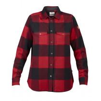 Fjällräven Canada Shirt LS W Red
