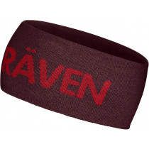 Fjällräven Fj Logo Head Band Dark Garnet