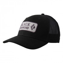 Black Diamond Bd Trucker Hat Black-Aluminum