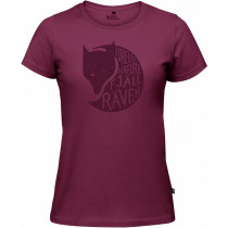 Fjällräven Forever Nature Fox T-Shirt Women's Plum