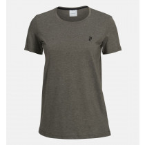 Peak Performance Women's Track Tee Terrain Green
