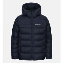 Peak Performance Frost Down Jacket Artwork Salute Blue